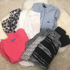 Clothing Lot Bundle Box 5pc Sz Fits 1X